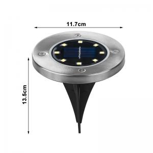 Светодиодный напольный уличный светильник с датчиком света на солнечной батарее НайтЛайт-6_3