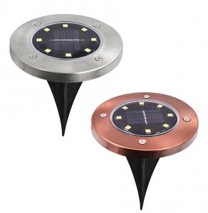 Светодиодный напольный уличный светильник с датчиком света на солнечной батарее НайтЛайт-6_2