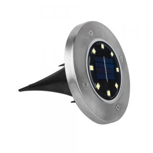 Светодиодный напольный уличный светильник с датчиком света на солнечной батарее НайтЛайт-6_4