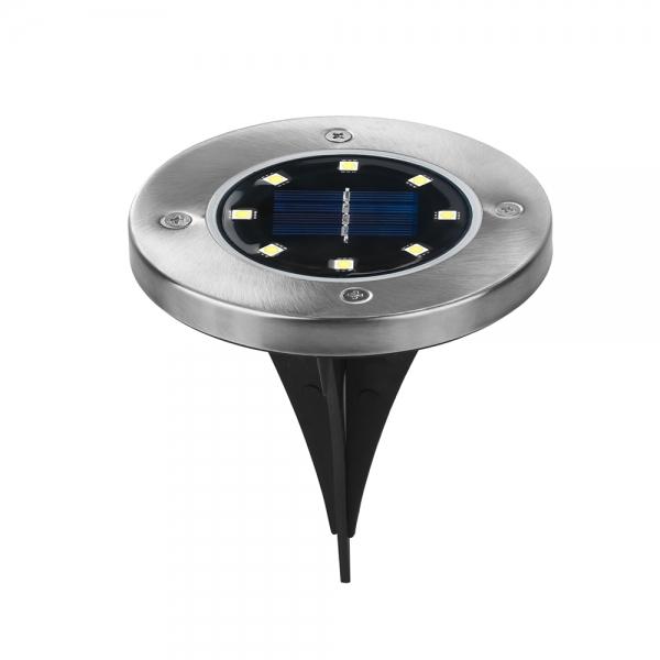 Светодиодный напольный уличный светильник с датчиком света на солнечной батарее НайтЛайт-6