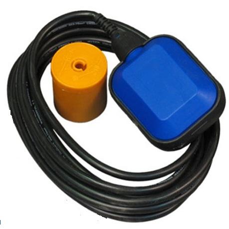 Поплавковый выключатель двойного действия с противовесом (лягушка) PDP-03,  до 220v