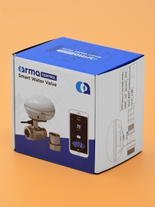 Умный шаровый кран с WI-Fi управлением ArmaСontrol WF-01_3