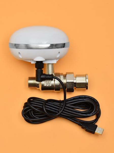 Умный шаровый кран с WI-Fi управлением ArmaСontrol WF-01