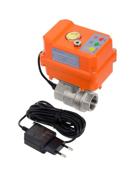 Умный шаровый кран с WI-Fi управлением ArmaСontrol WF-02