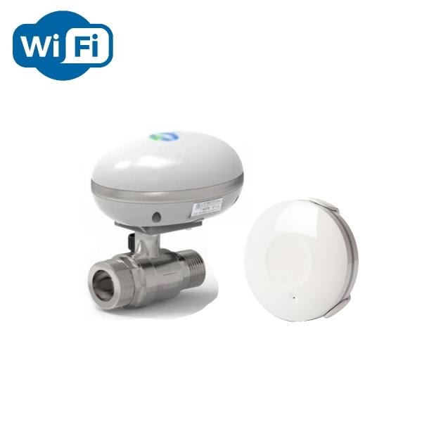 Беспроводная Wi-Fi система защиты от протечки воды ArmaControl -5 (с одним WiFi шаровым краном)