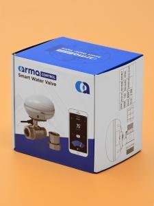 Беспроводная Wi-Fi система защиты от протечки воды ArmaControl -5 (с двумя WiFi шаровыми кранами)_2