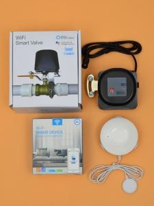 Беспроводная Wi-Fi система защиты от протечки воды ArmaControl -4 (с универсальным WIFi приводом и 1 шт. WiFi датчик протечки)_4