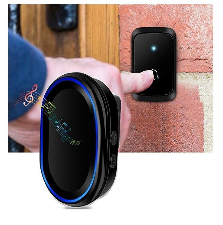 Беспроводной звонок в розетку ArmaControl AS-A80 (кнопка управления и звонок)