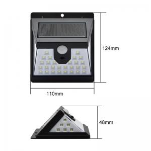 Светодиодный уличный светильник с датчиком движения на солнечной батарее НайтЛайт-3, 40 светодиодов_3