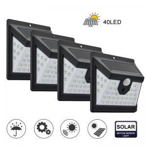 Светодиодный уличный светильник с датчиком движения на солнечной батарее НайтЛайт-3, 40 светодиодов_1