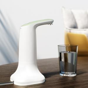 Электрическая помпа для воды под бутылки 19л JAV-J2, с подставкой в комплекте, белая_0