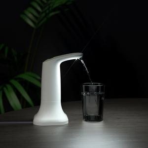 Электрическая помпа для воды под бутылки 19л JAV-J2, с подставкой в комплекте, белая_4