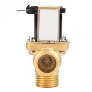 Клапан электромагнитный латунный нормально-закрытый ARM VT9474 (AC220V,  DC12V, DC24V), угловой_1