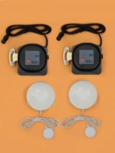 Беспроводная Wi-Fi система защиты от протечки воды ArmaControl -4 (с двумя универсальным WIFi приводами и 3 WiFi датчика протечки)_1