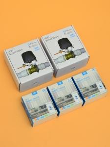 Беспроводная Wi-Fi система защиты от протечки воды ArmaControl -4 (с двумя универсальным WIFi приводами и 3 WiFi датчика протечки)_2