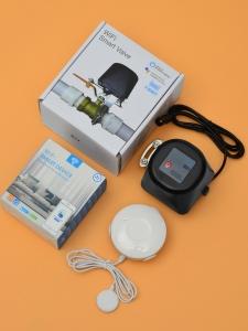 Беспроводная Wi-Fi система защиты от протечки воды ArmaControl -4 (с двумя универсальным WIFi приводами и 3 WiFi датчика протечки)_3
