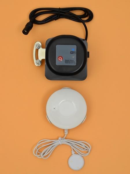 Беспроводная Wi-Fi система защиты от протечки воды ArmaControl -4 (с двумя универсальным WIFi приводами и 3 WiFi датчика протечки)
