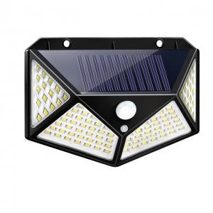 Светодиодный уличный светильник с датчиком движения на солнечной батарее НайтЛайт-3, 100 светодиодов_0