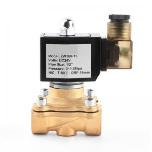 Клапан электромагнитный латунный нормально-закрытый PN10 ArmaControl 2W160 (AC220V, DC12V, DC24V)_1