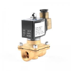 Клапан электромагнитный латунный нормально-закрытый PN10 ArmaControl 2W160 (AC220V, DC12V, DC24V)_0