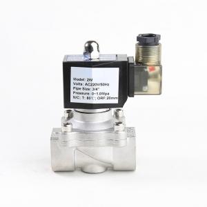 Клапан электромагнитный нержавеющий нормально-закрытый PN10 ArmaControl 2W320 (AC220V, DC12V, DC24V)_1