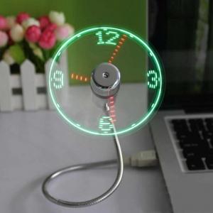 Вентилятор NewClassic V1 от USB с LED подсветкой и часами_2