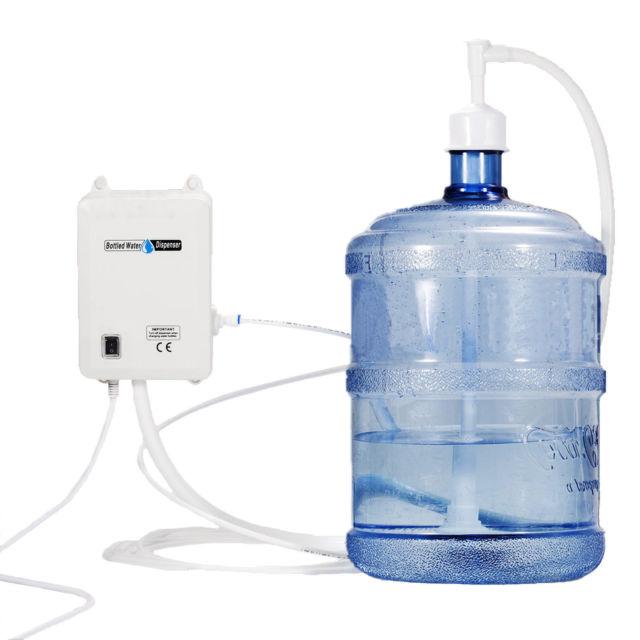 Электрическая помпа-насос для бутилированной воды 19л JAV-BV2020, двойная, 220в_1