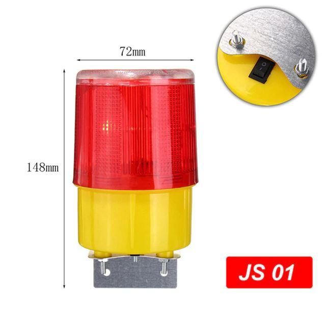 Аварийный свет на солнечной батарее, заградительный огонь Warning Light JS01_1