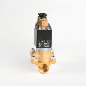 Клапан электромагнитный латунный нормально-открытый PN10 ArmaControl 2W200 (AC220V, DC12V, DC24V)_1