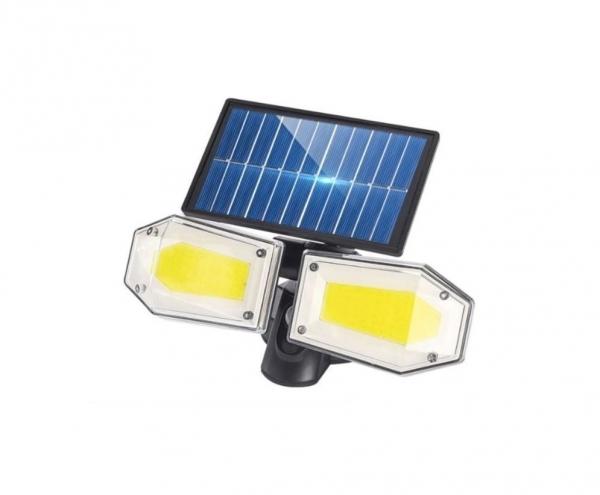 Светодиодный уличный светильник YG-1416 с датчиком движения на солнечной батарее , 78 светодиодов