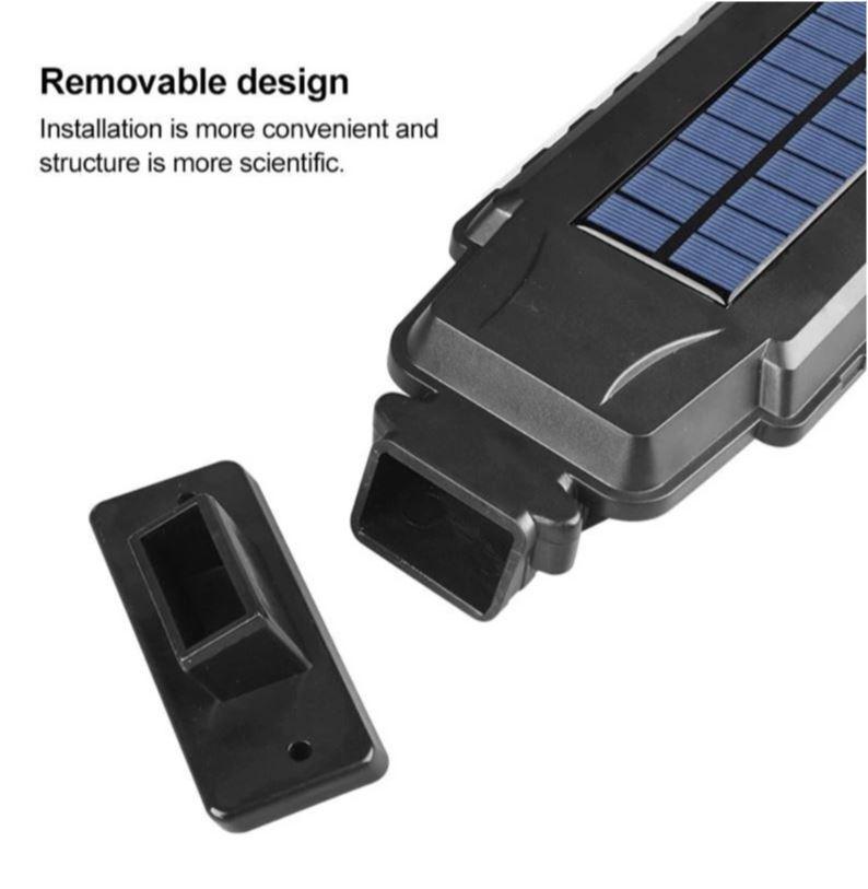 Светодиодный уличный светильник NewClassic YG-1400 с датчиком движения на солнечной батарее , 40 светодиодов